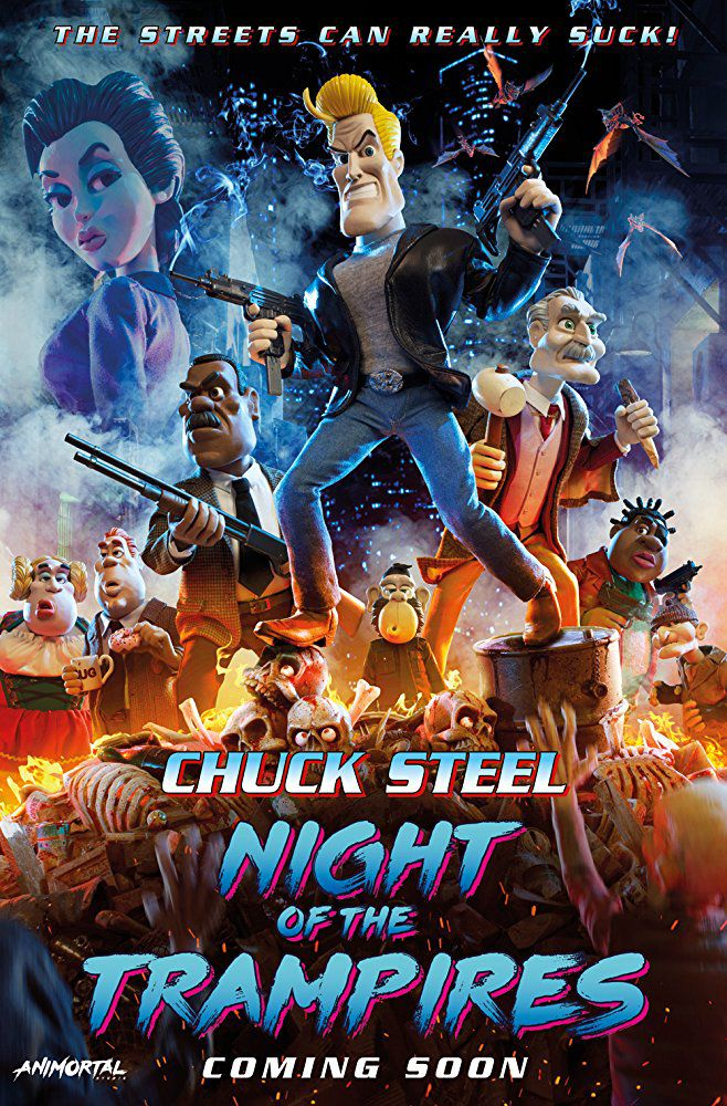 Chuck Steel: Night of the Trampires - Long-métrage d'animation (2018)