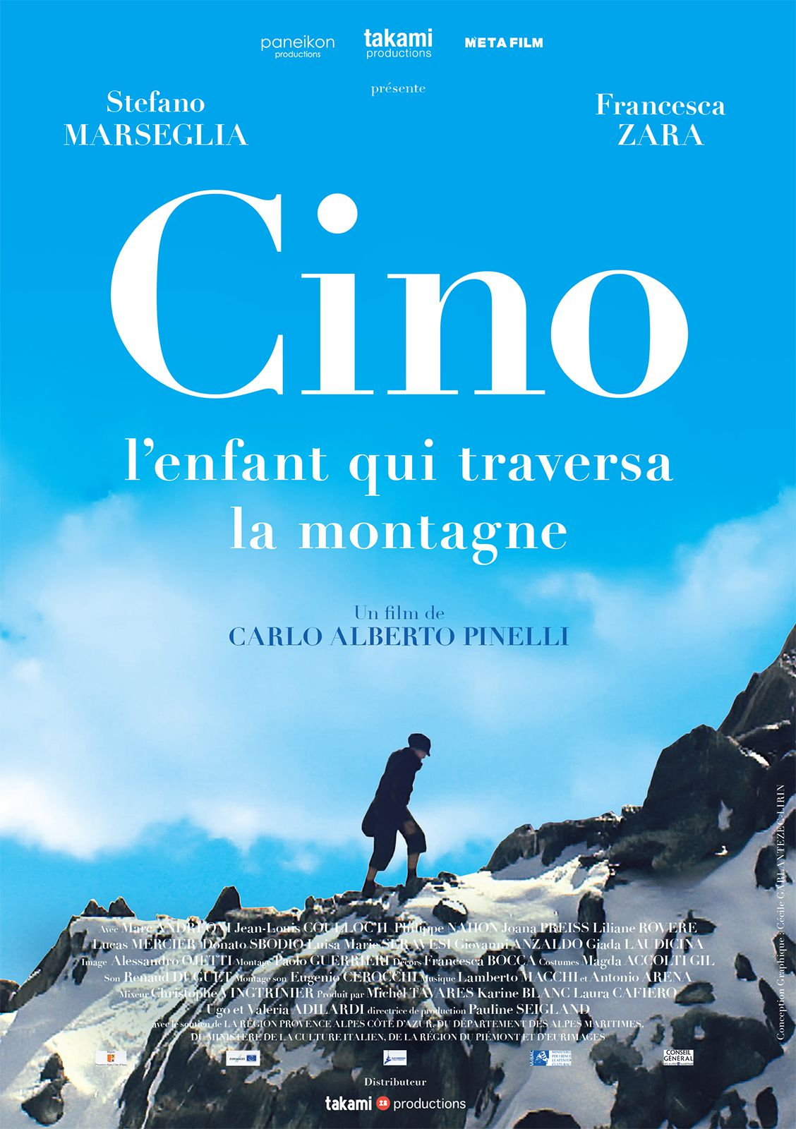 Cino, l'enfant qui traversa la montagne - Film (2014)