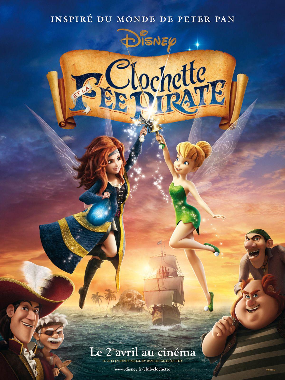 Clochette et la Fée pirate - Long-métrage d'animation (2014)