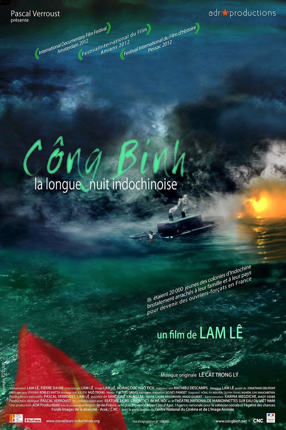 Công Binh – La Longue Nuit Indochinoise - Documentaire (2013)