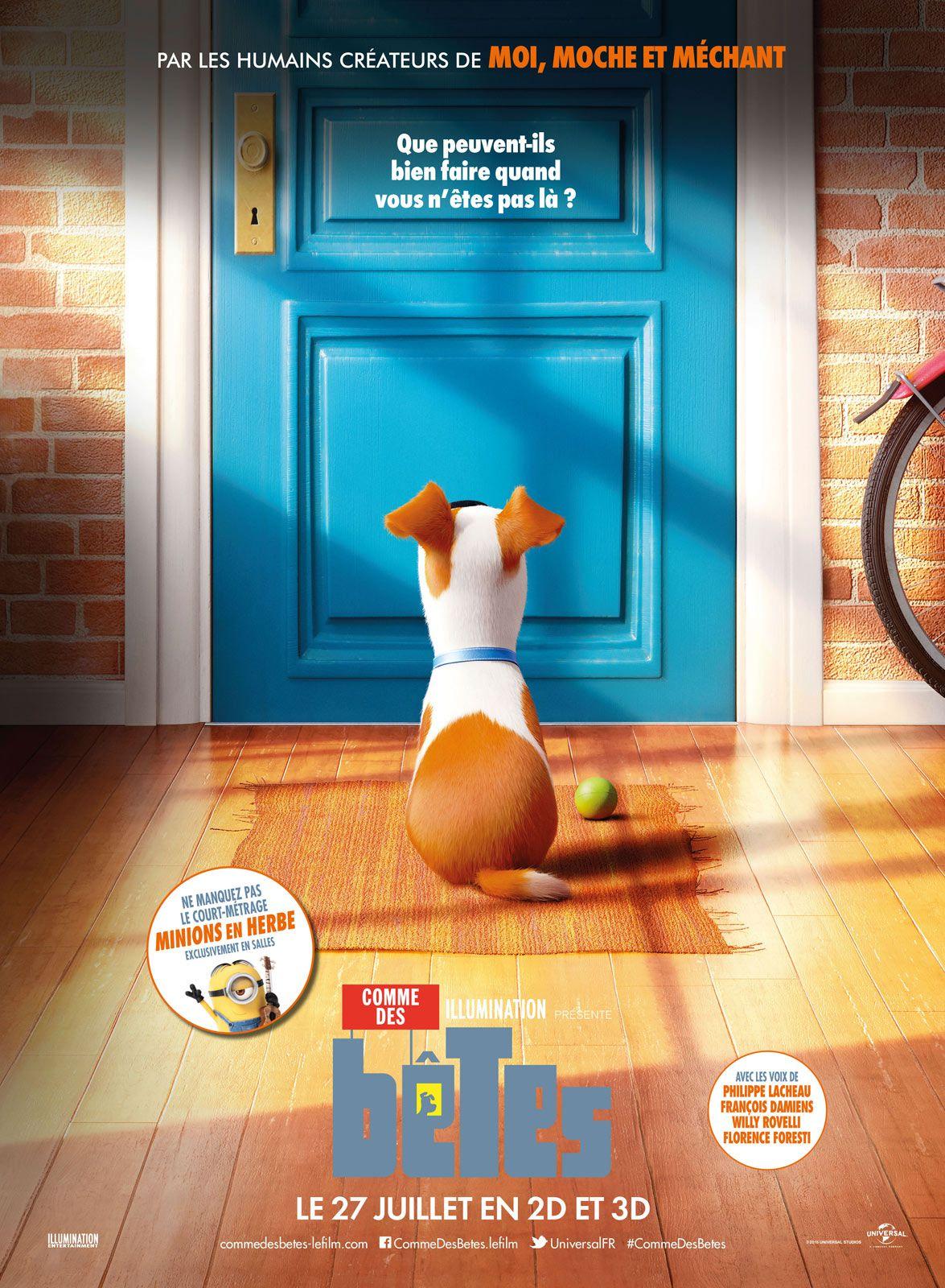 Comme des bêtes - Long-métrage d'animation (2016)