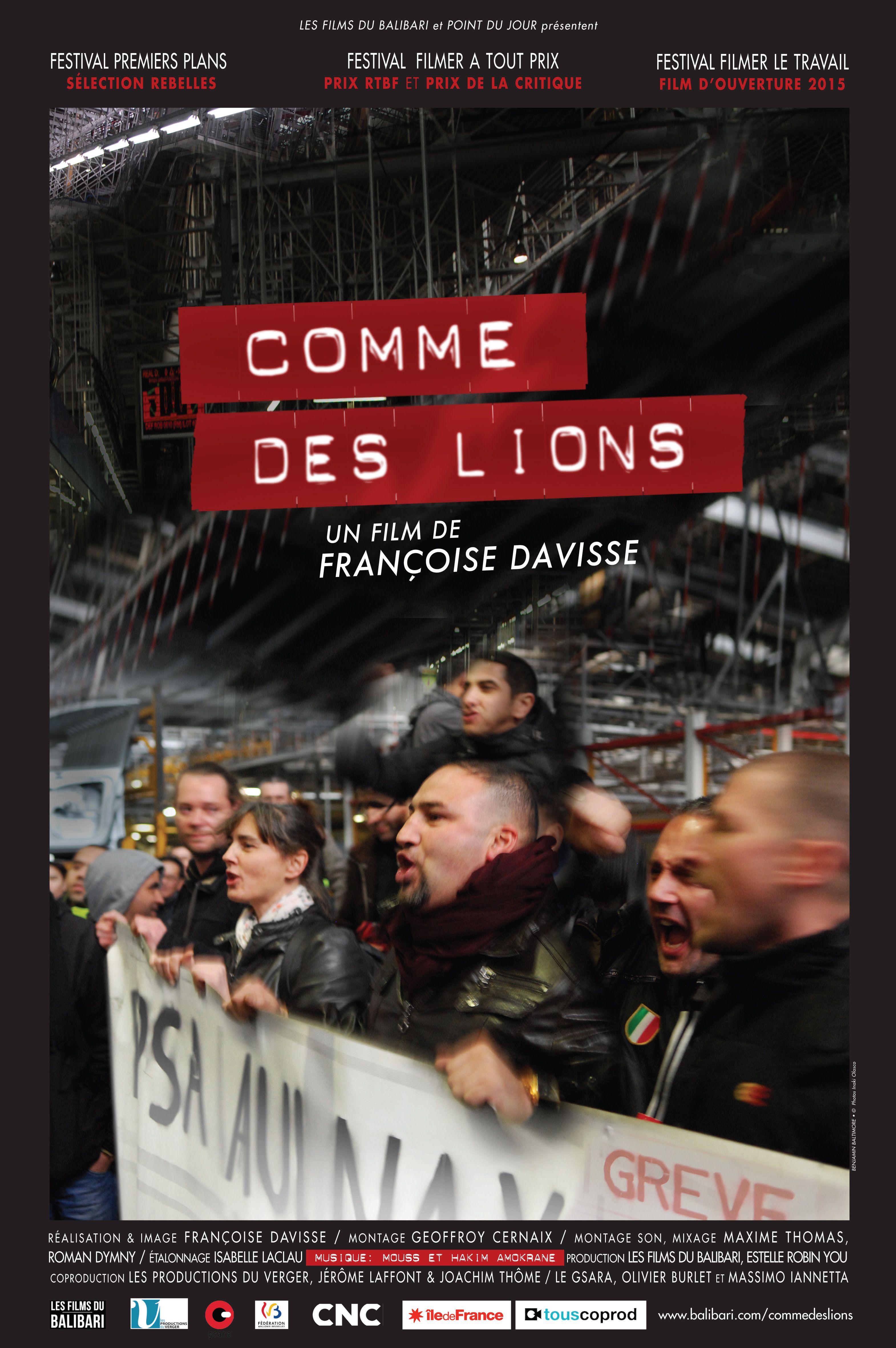 Comme des lions - Documentaire (2016)