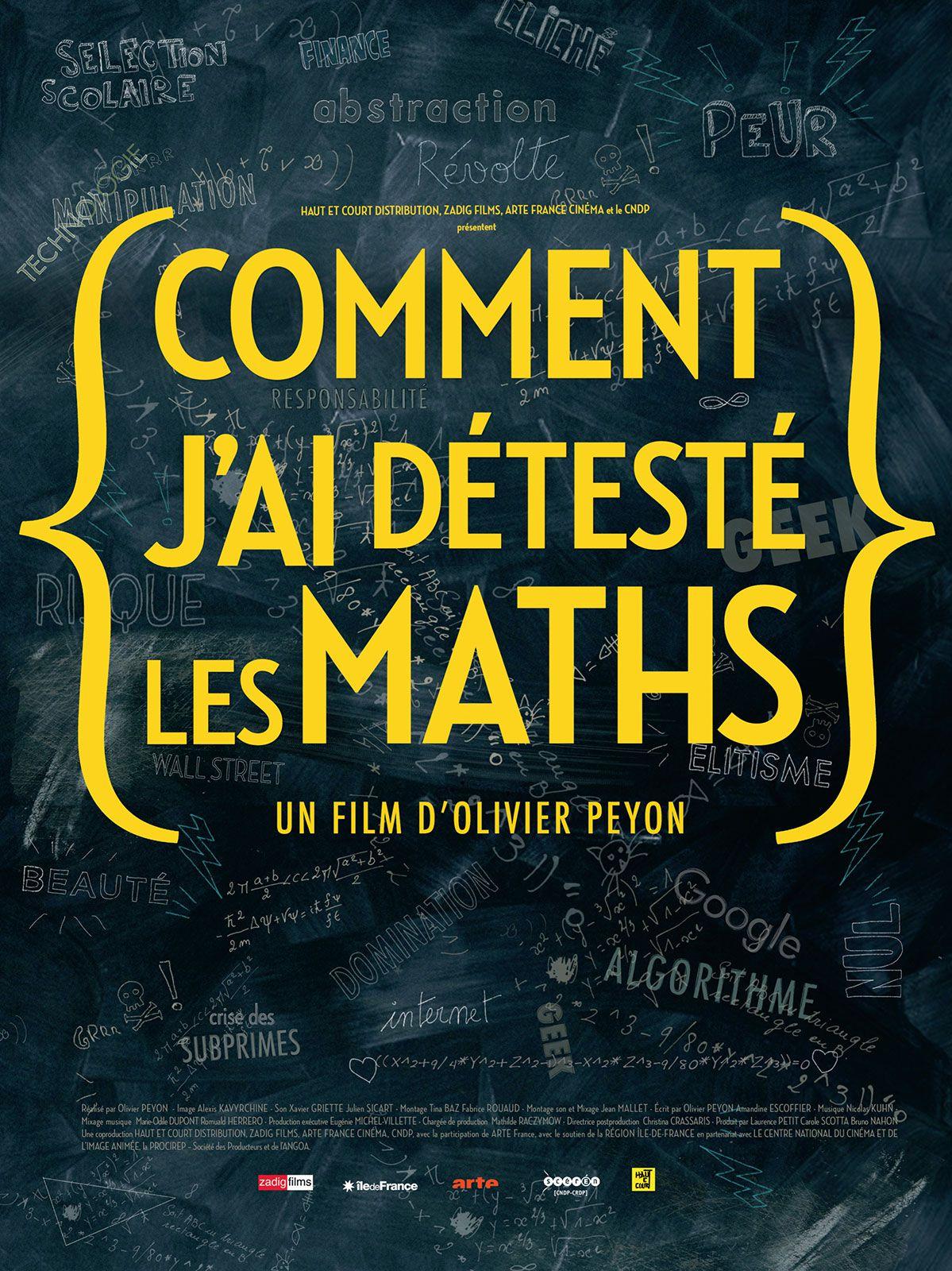 Comment j'ai détesté les maths - Documentaire (2013)