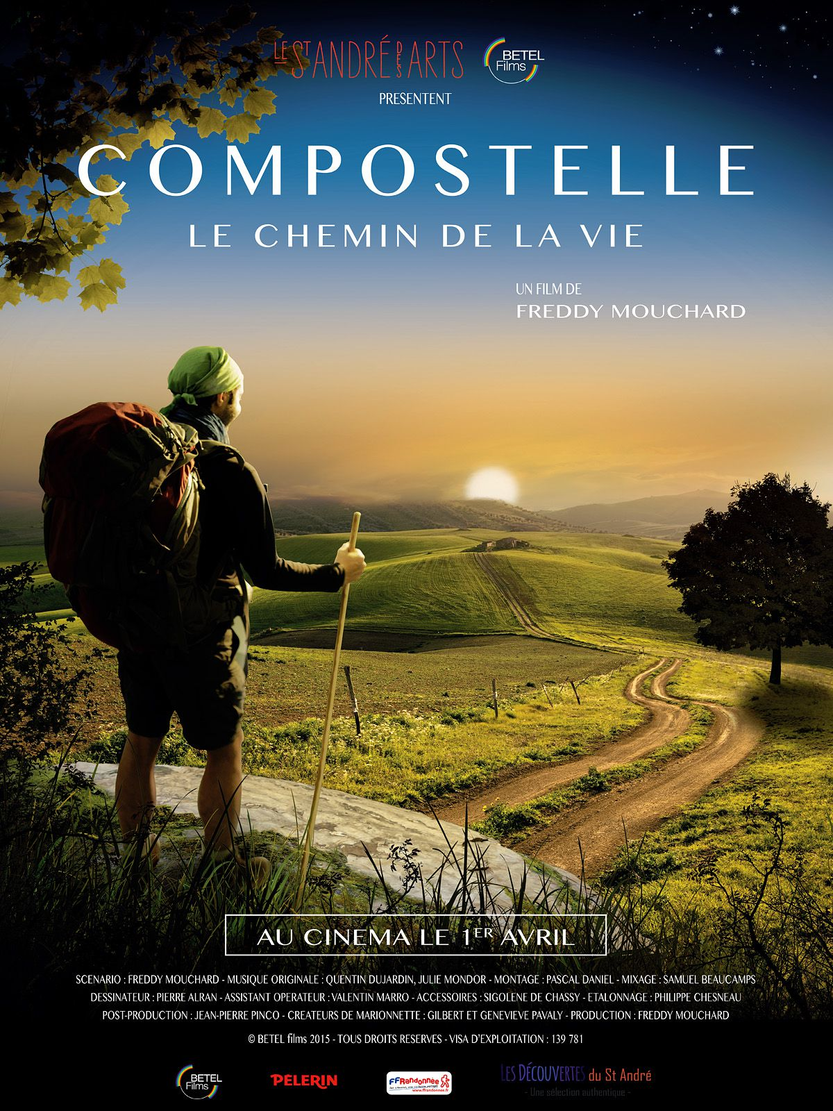 Compostelle, le chemin de la vie - Documentaire (2015)