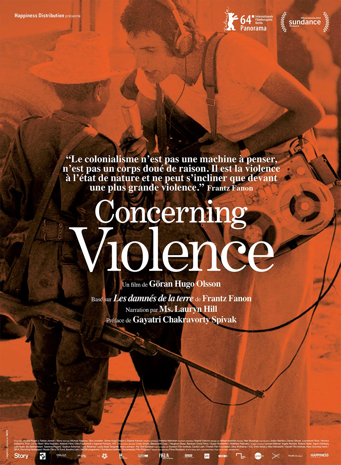 Concerning Violence - Documentaire (2014)