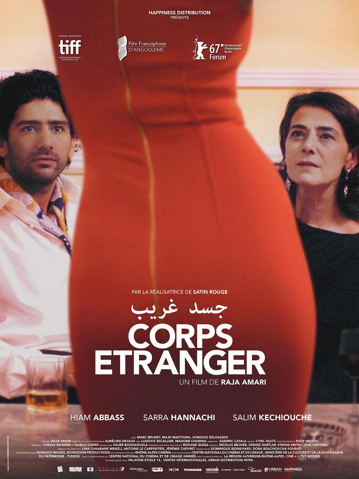 Corps étranger - Film (2018)