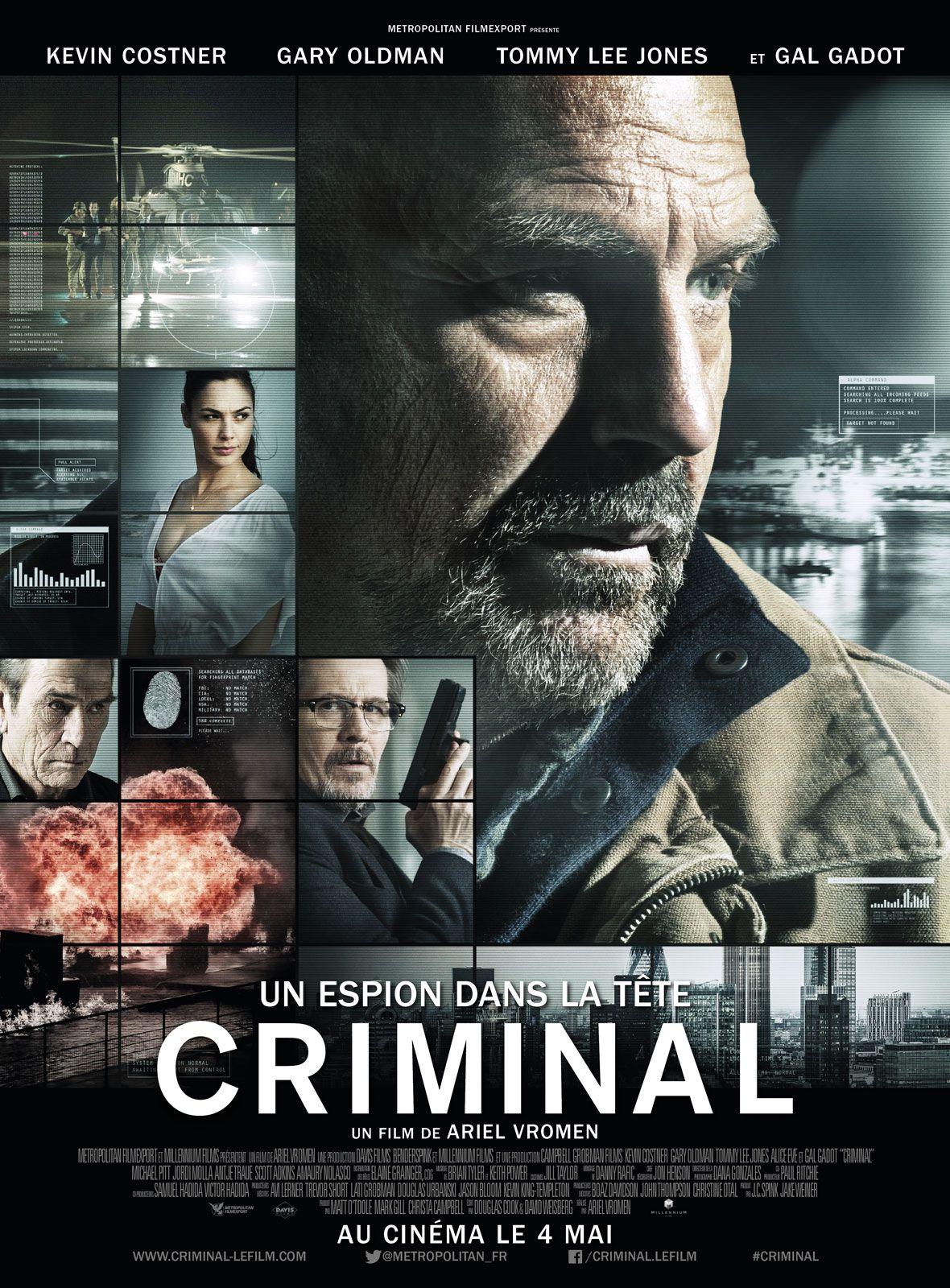 Criminal : Un espion dans la tête - Film (2016)