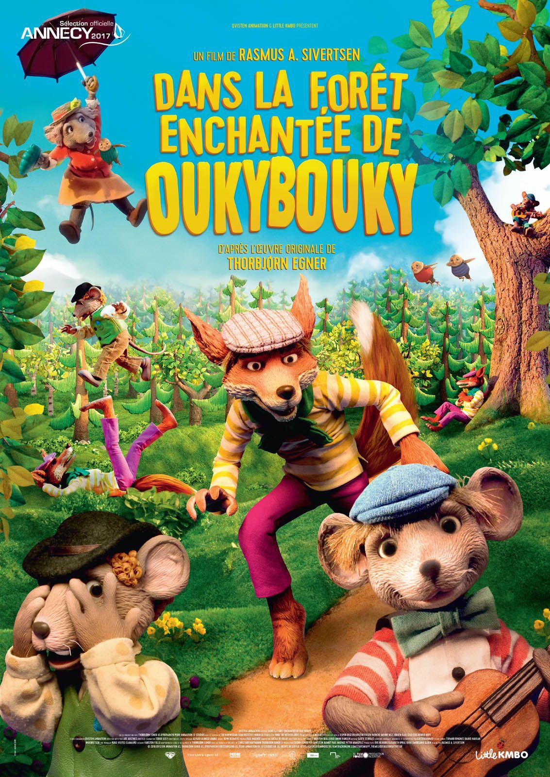 Dans la forêt enchantée de Oukybouky - Long-métrage d'animation (2017)