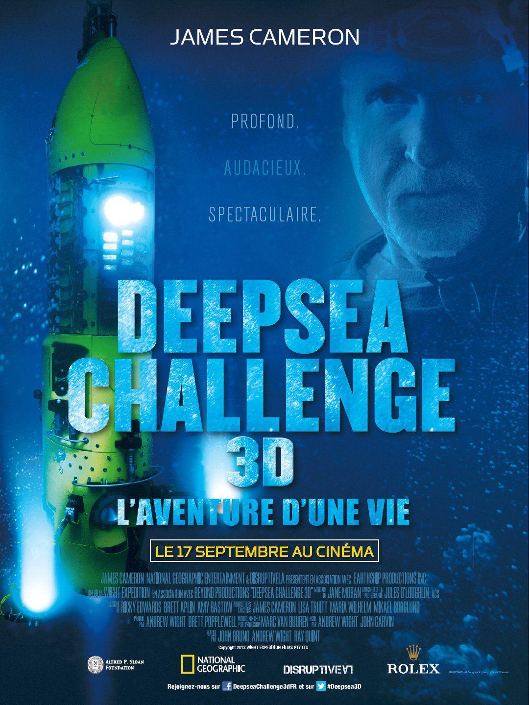 Deepsea Challenge 3D, l'aventure d'une vie - Documentaire (2014)
