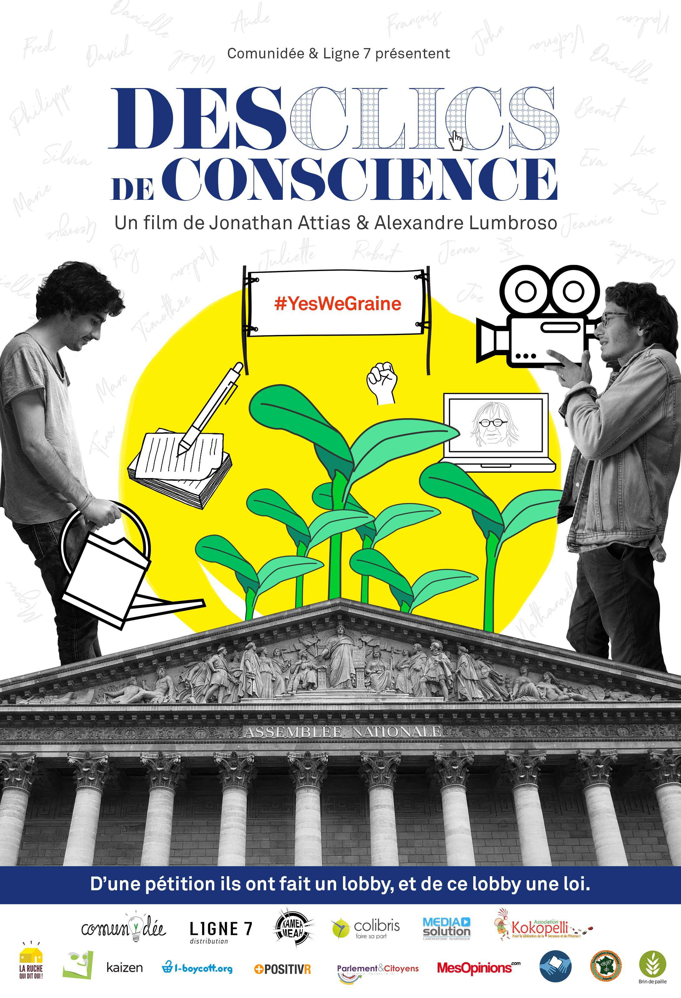 Des clics de conscience - Documentaire (2017)