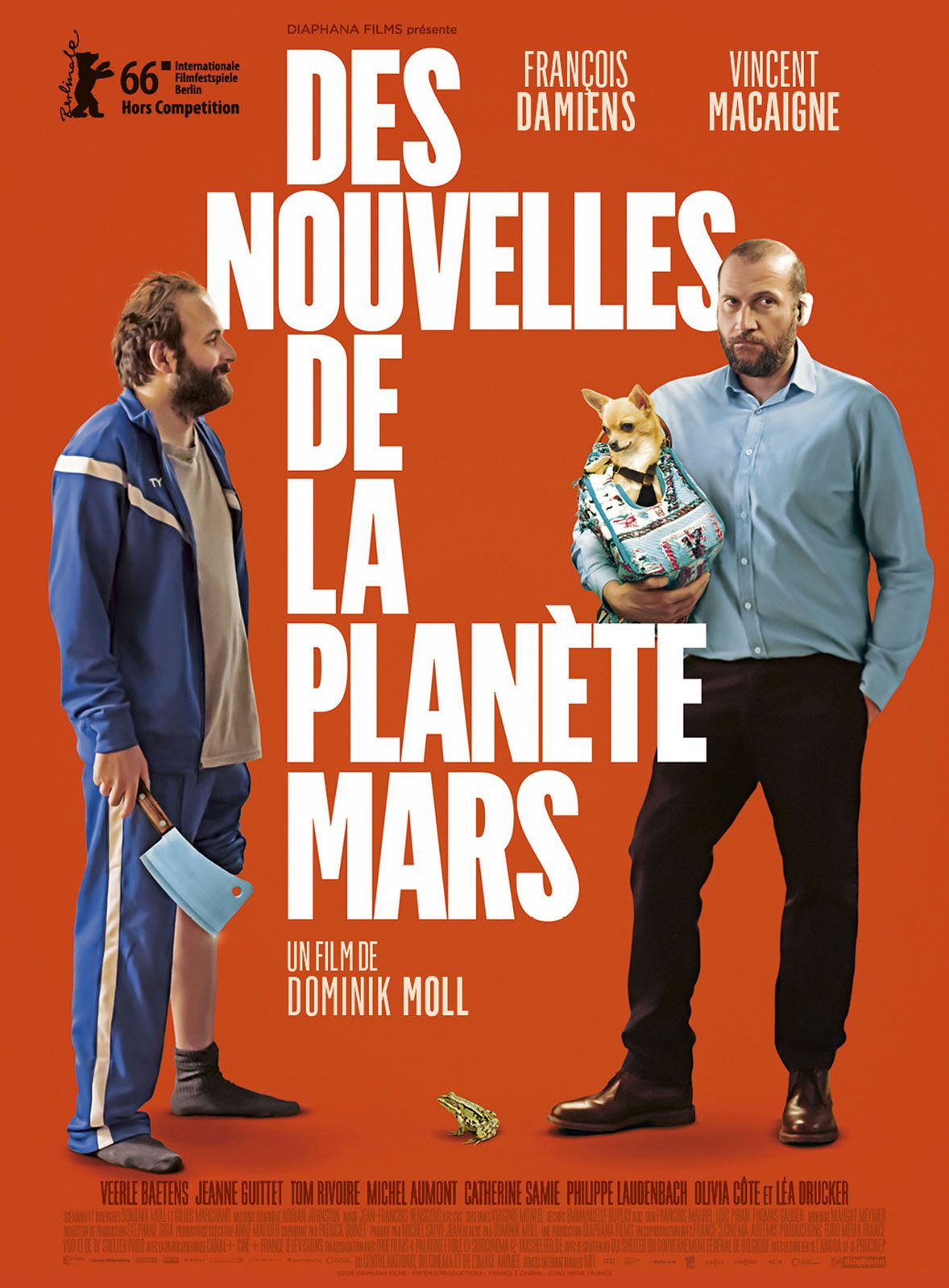 Des nouvelles de la planète Mars - Film (2016)