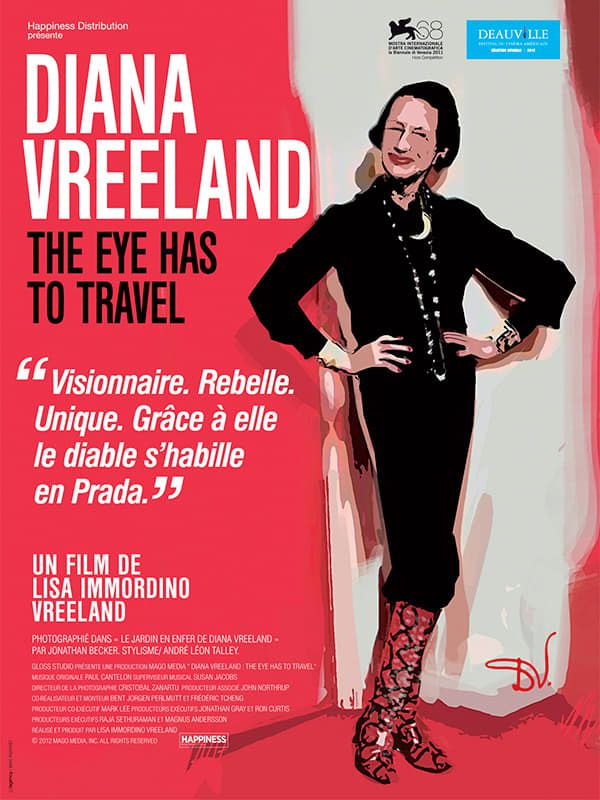 Diana Vreeland : L'œil doit vagabonder - Documentaire (2011)