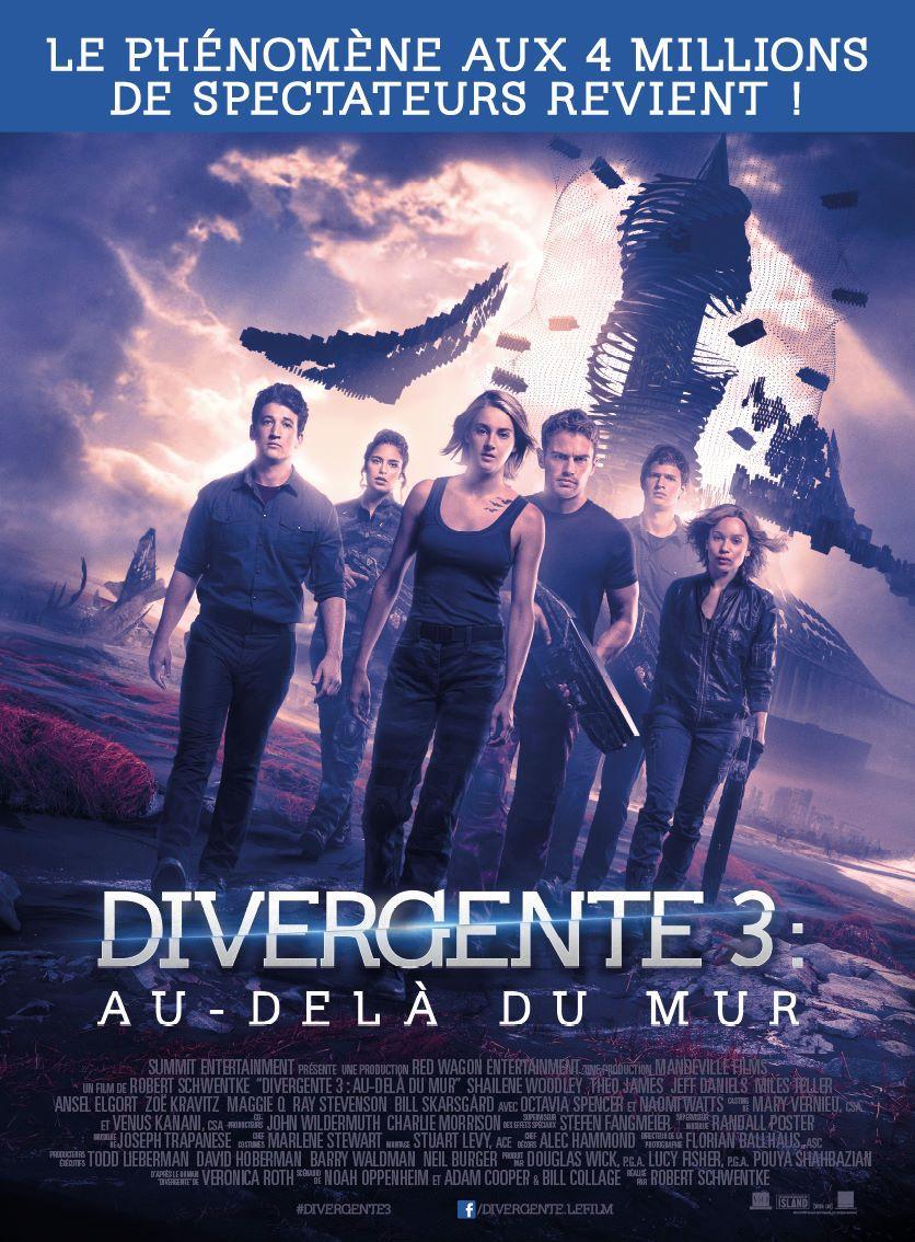 Divergente 3 : Au-delà du mur - Film (2016)