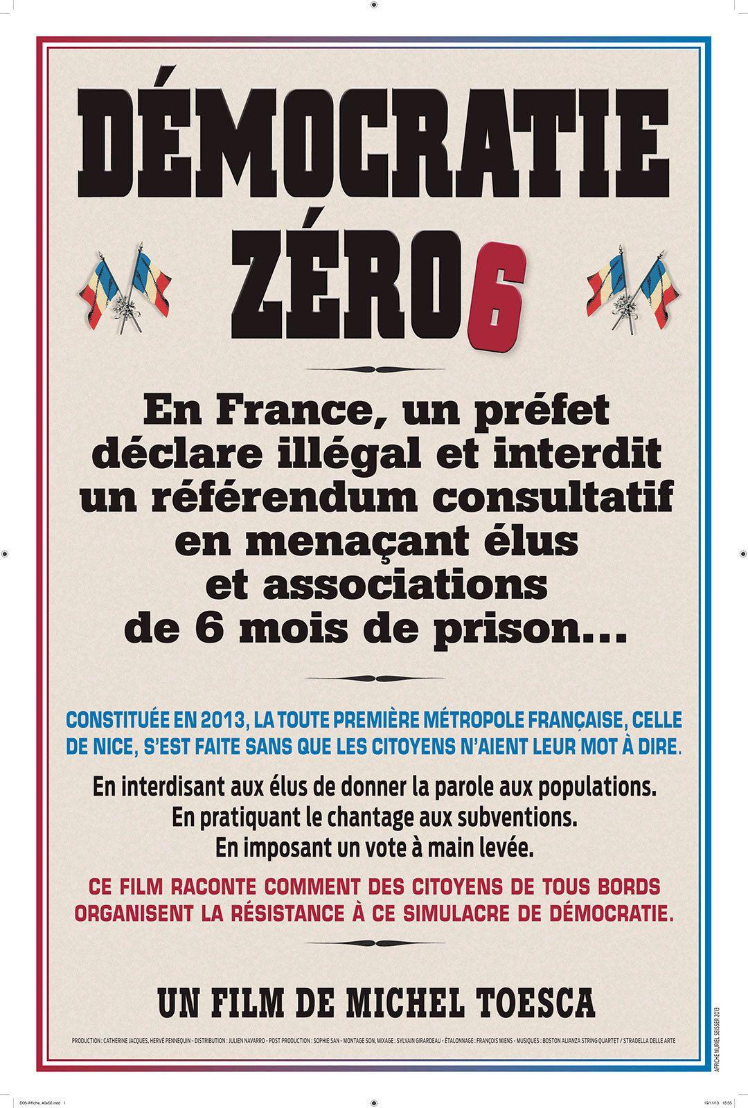 Démocratie Zéro6 - Documentaire (2014)