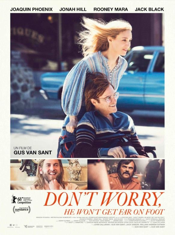 Don't Worry, He Won't Get Far on Foot - Film (2018)