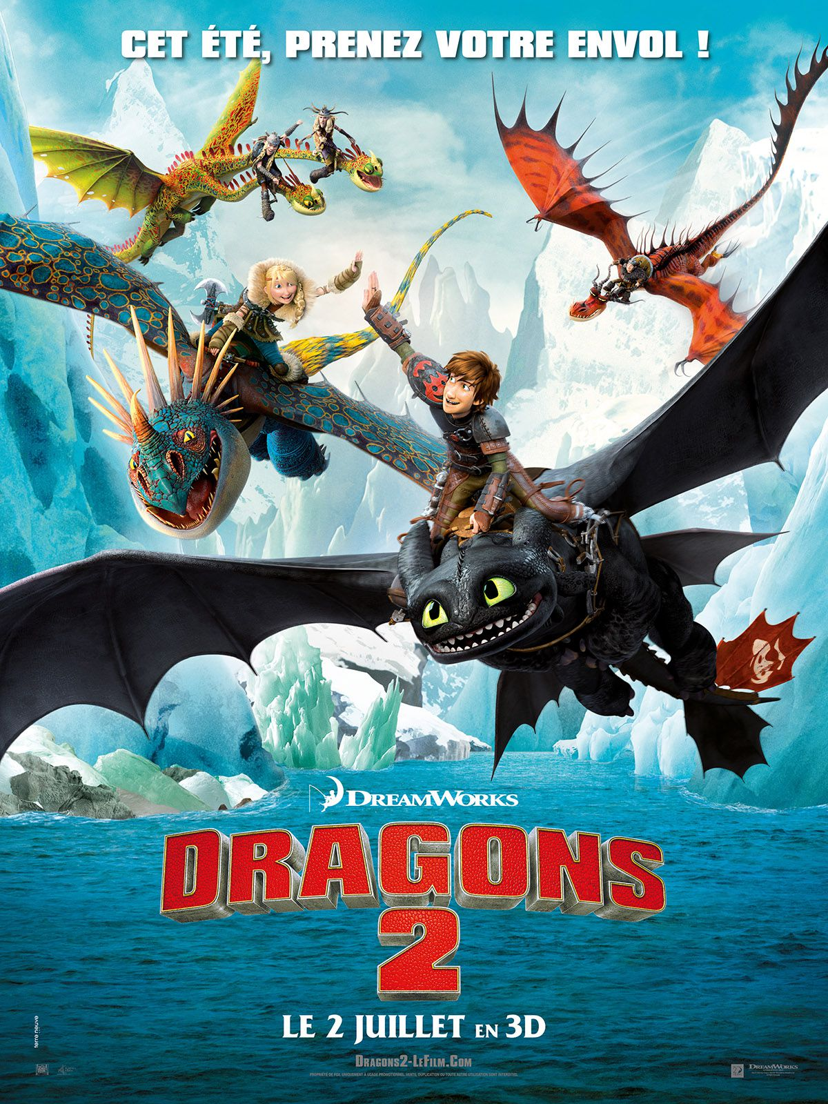 Dragons 2 - Long-métrage d'animation (2014)