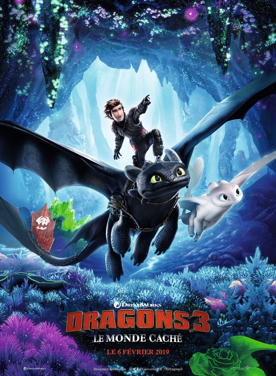 Dragons 3 : Le Monde caché - Long-métrage d'animation (2019)