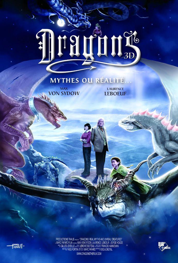 Dragons 3D : Mythes ou réalité - Documentaire (2013)