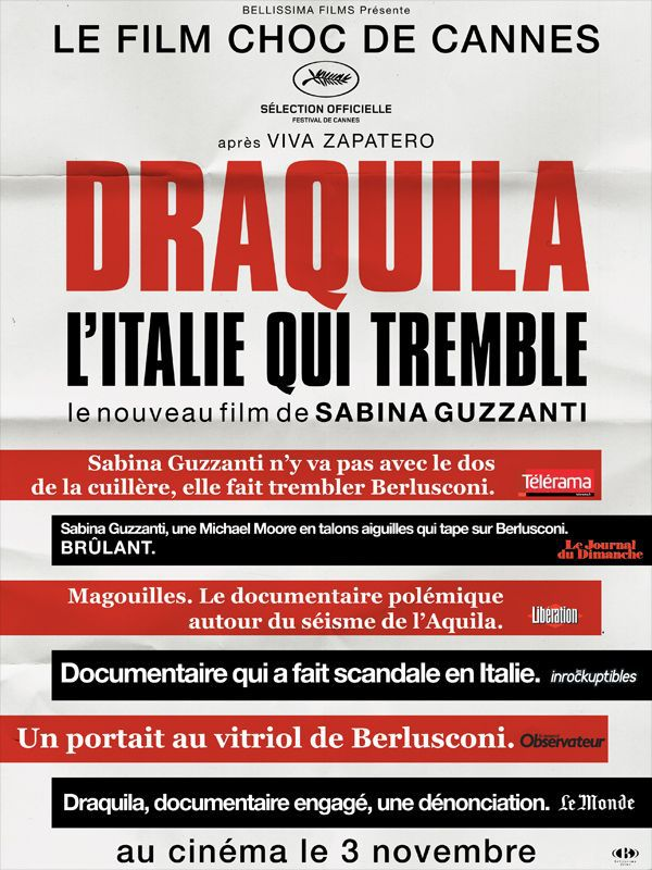 Draquila - L'Italie qui tremble - Documentaire (2010)