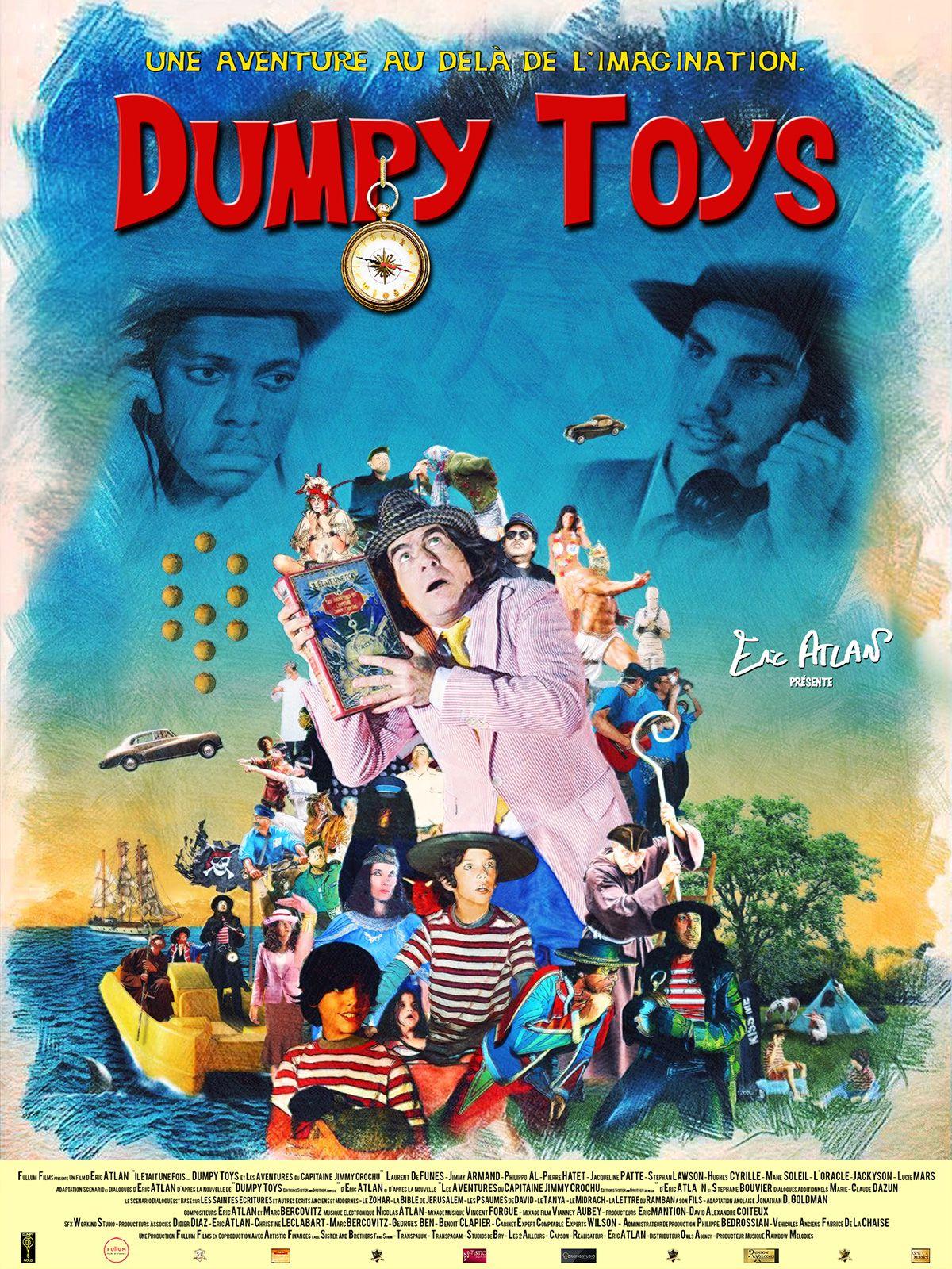 Dumpy Toys - Les Aventures du Capitaine Jimmy Crochu - Film (2020)