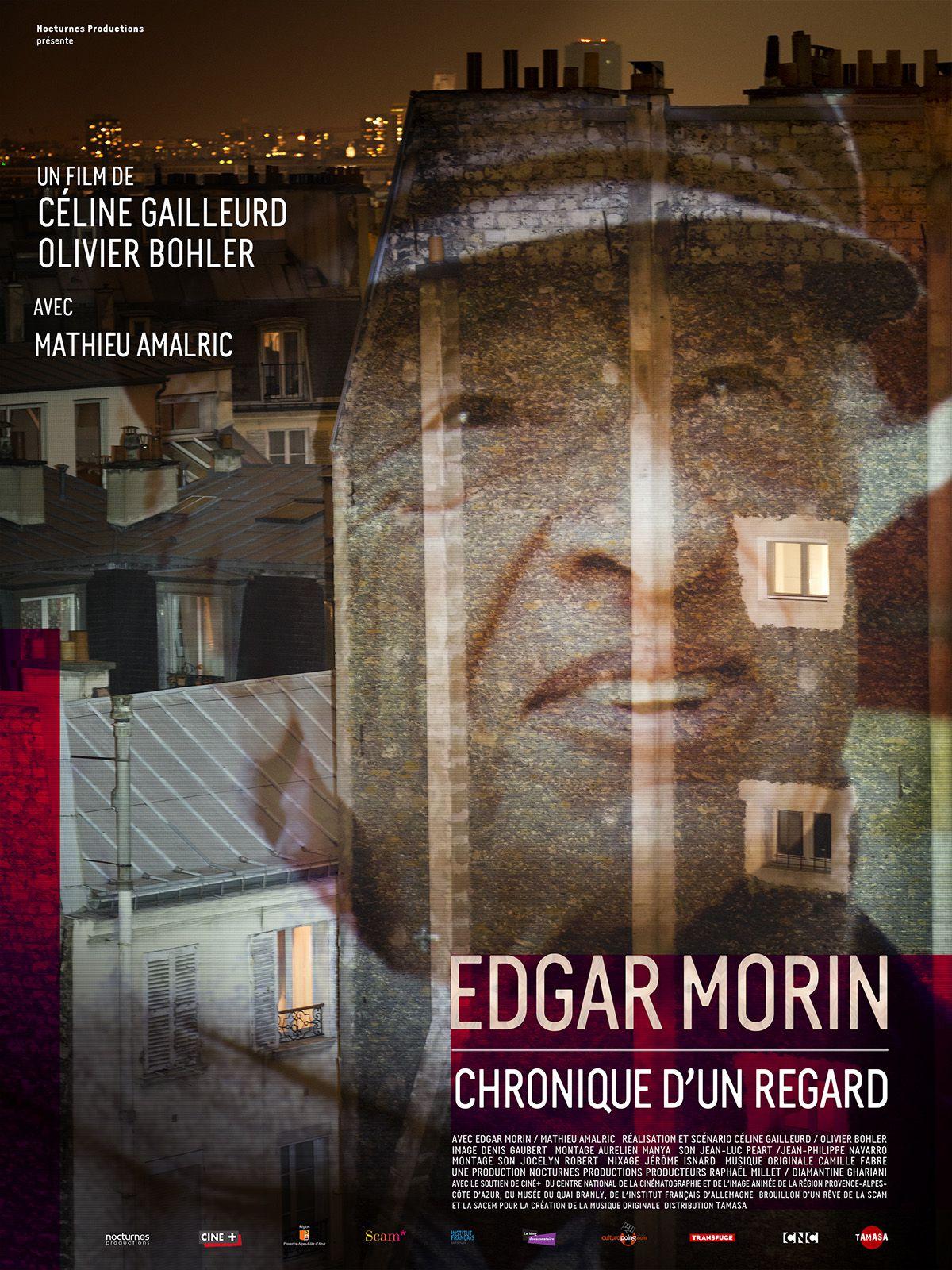 Edgar Morin : Chronique d'un regard - Documentaire (2015)