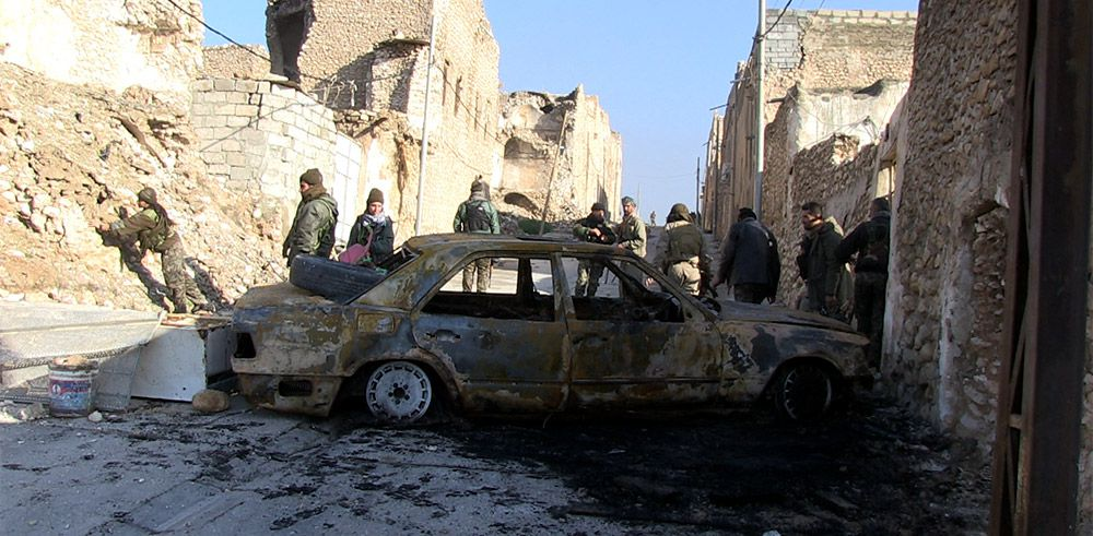 Encerclés par l'État islamique - Documentaire (2015)