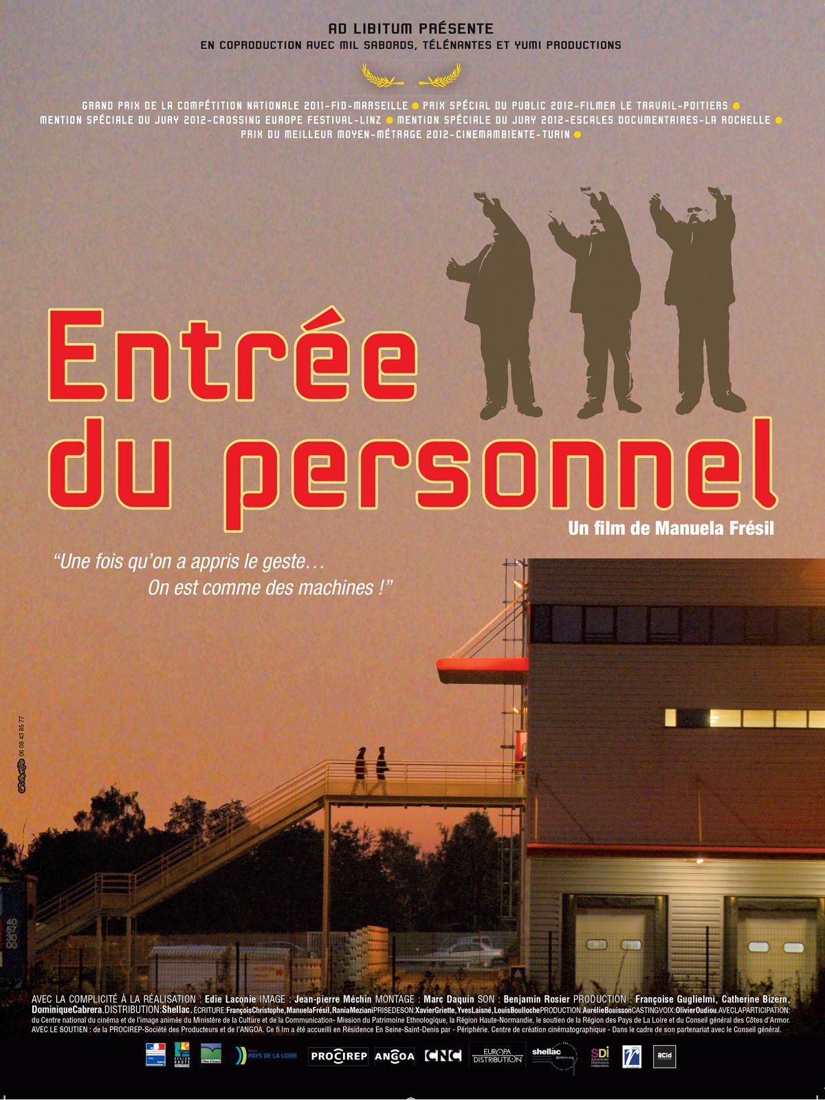 Entrée du personnel - Documentaire (2013)
