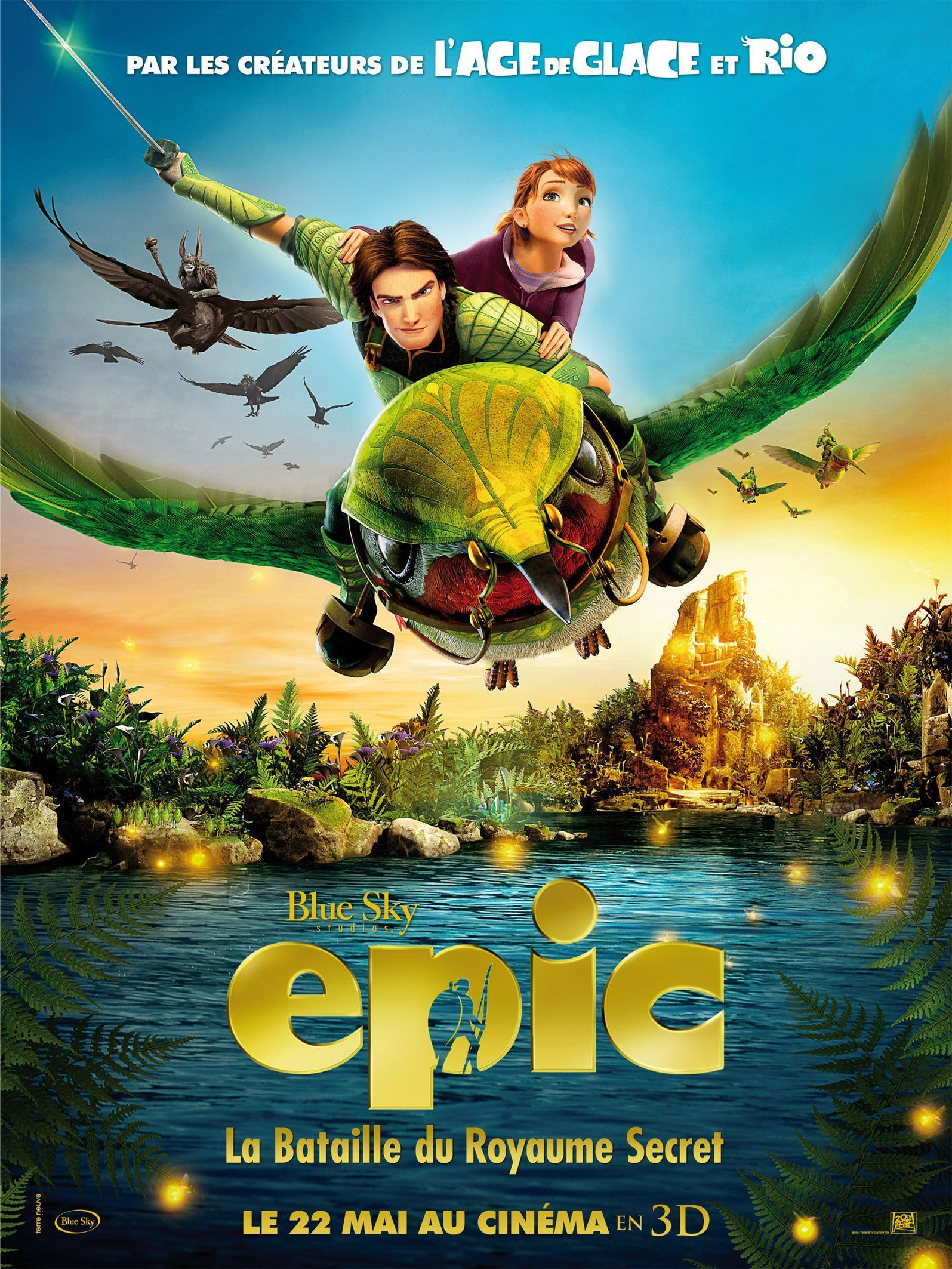 Epic : La Bataille du royaume secret - Long-métrage d'animation (2013)