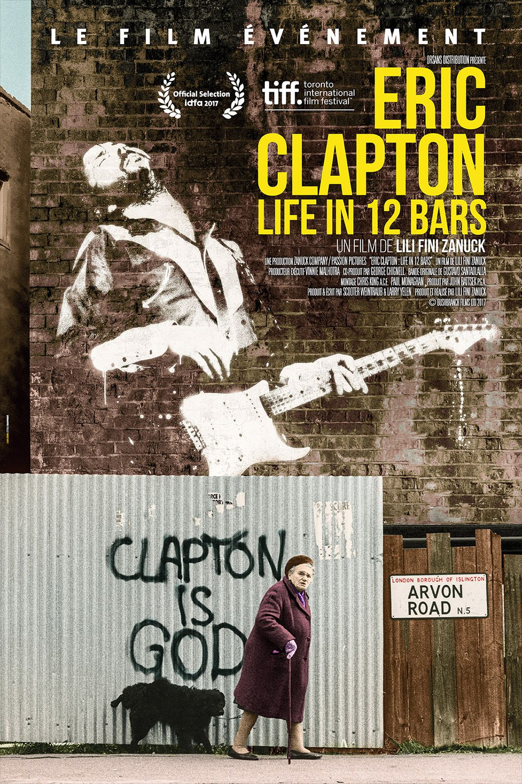 Eric Clapton : Life in 12 Bars - Documentaire (2019)