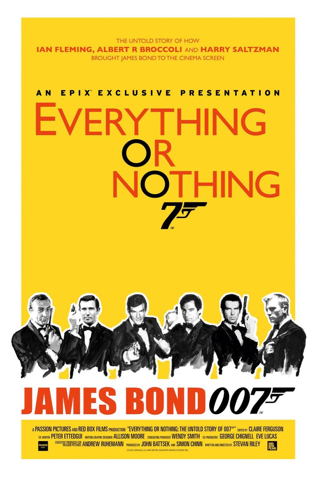 Everything or Nothing : L'histoire secrète de James Bond - Documentaire (2012)