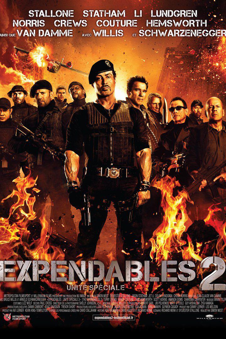 Expendables 2 : Unité spéciale - Film (2012)