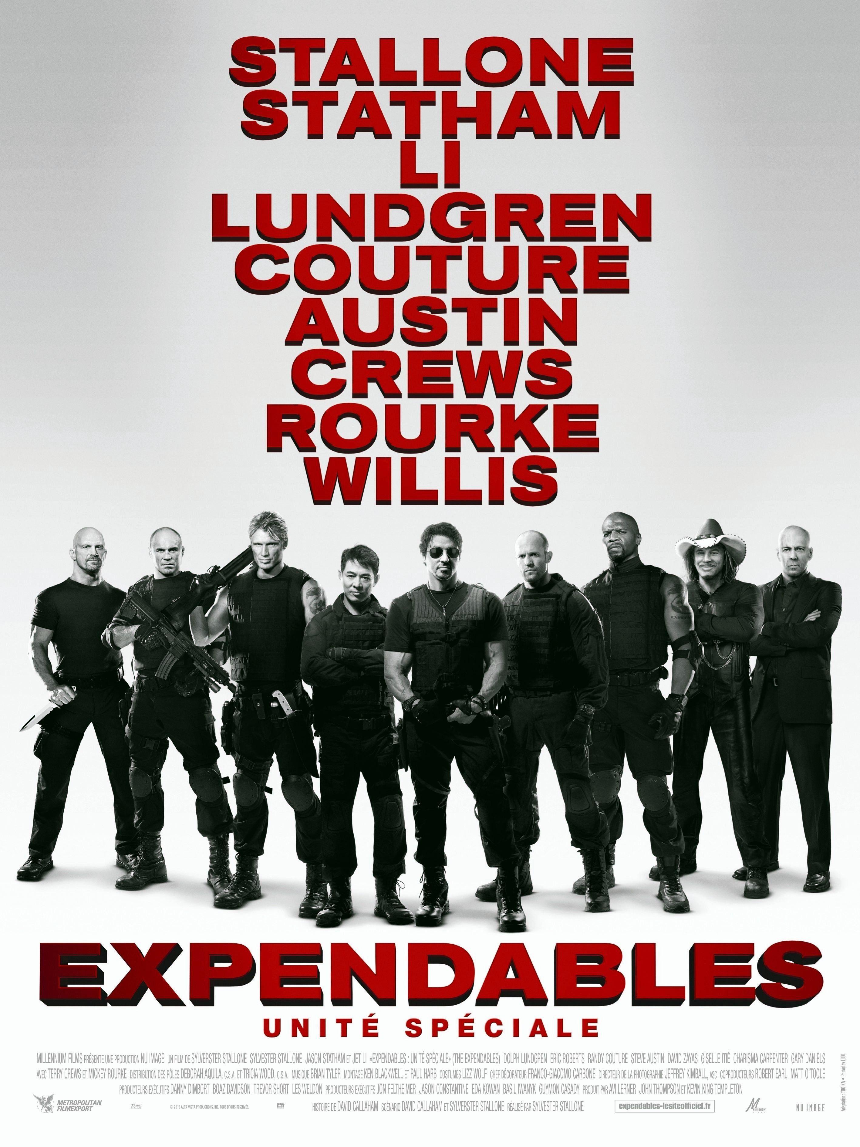 Expendables : Unité spéciale - Film (2010)