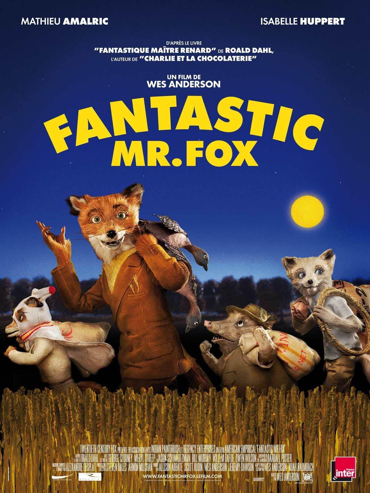 Fantastic Mr. Fox - Long-métrage d'animation (2009)