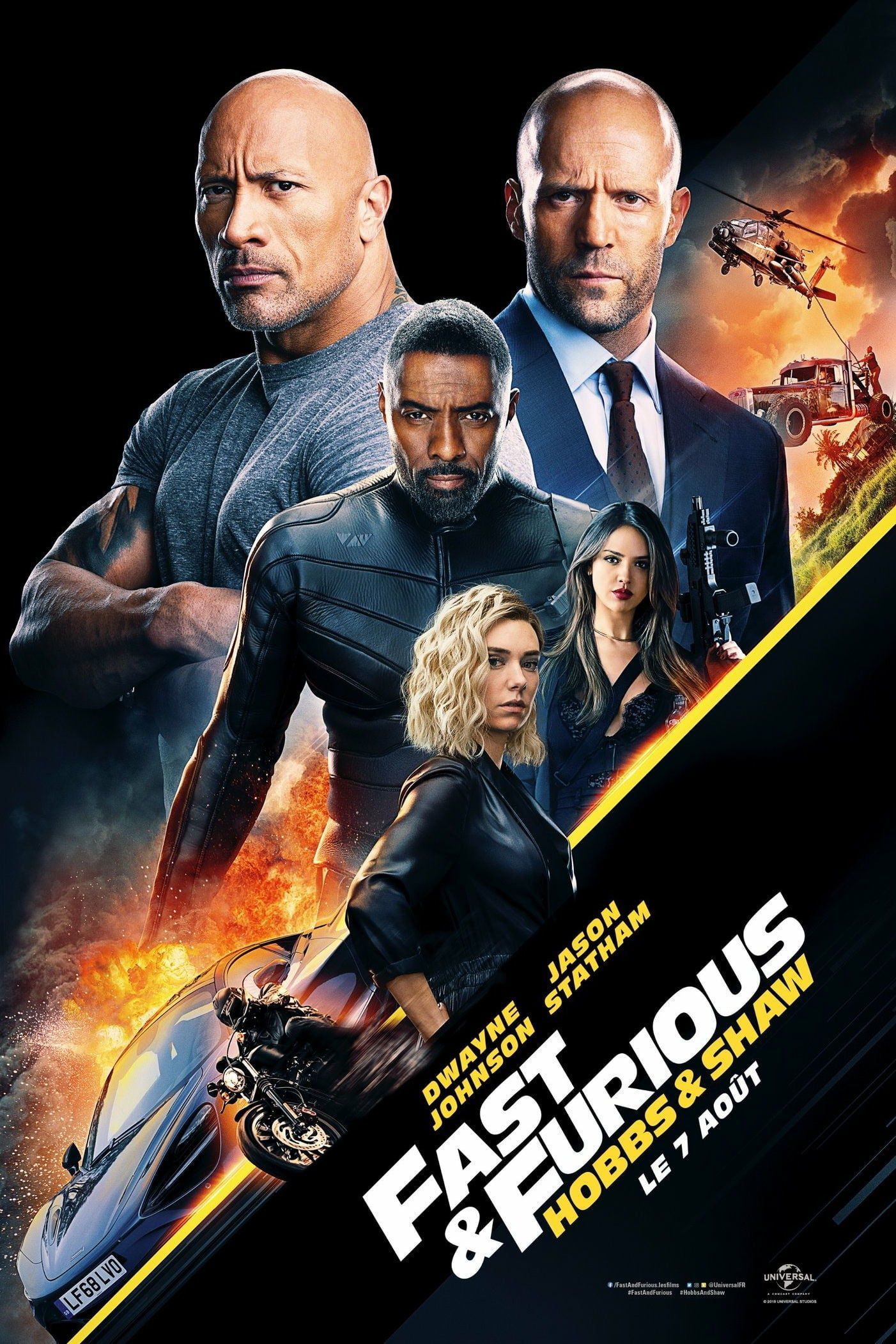 Fast & Furious : Hobbs & Shaw - Film (2019)
