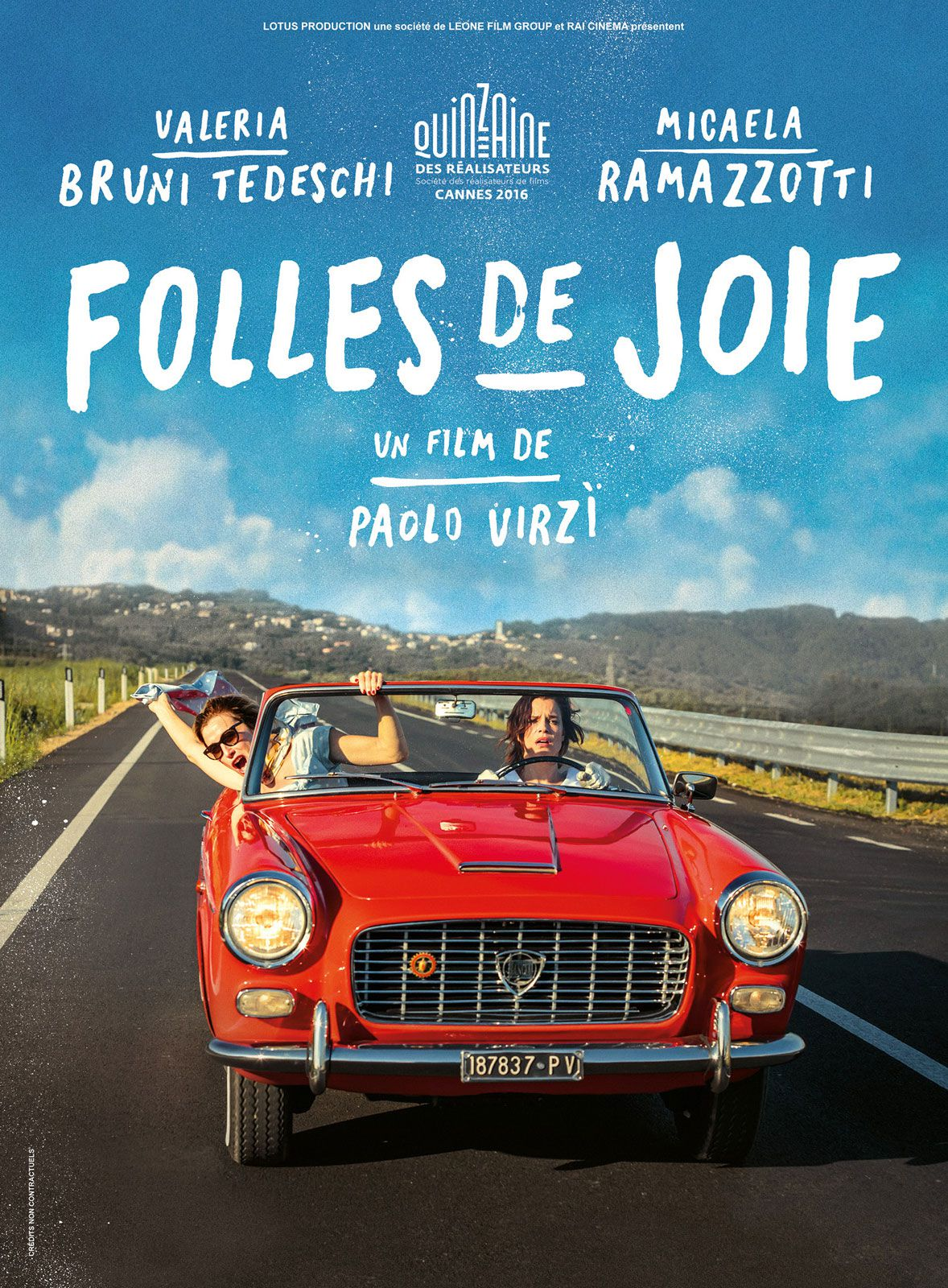 Folles de joie - Film (2016)