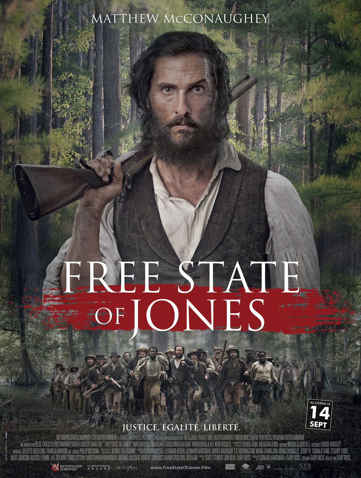 Free State of Jones - Film (2016)