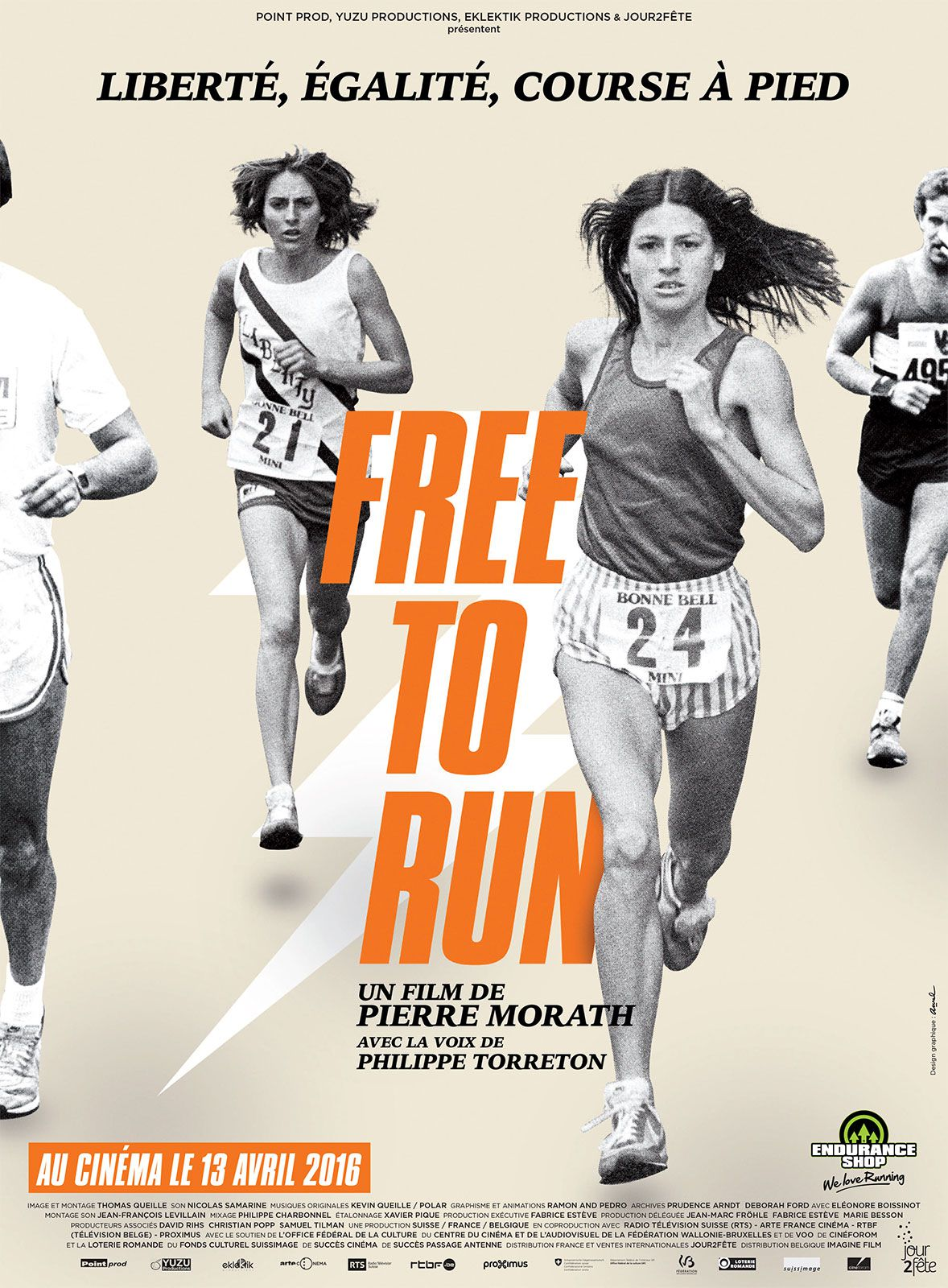Free to Run - Documentaire (2016)