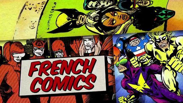 French Comics : Les Super-héros dans l'Hexagone - Documentaire (2011)