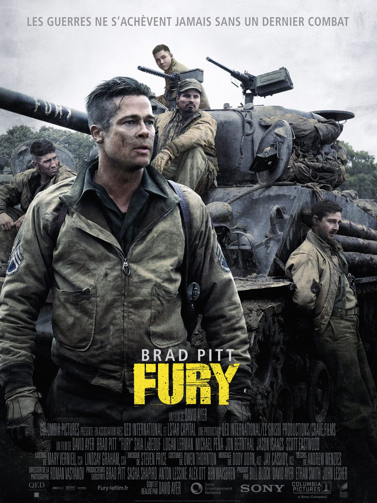 Fury - Film (2014)
