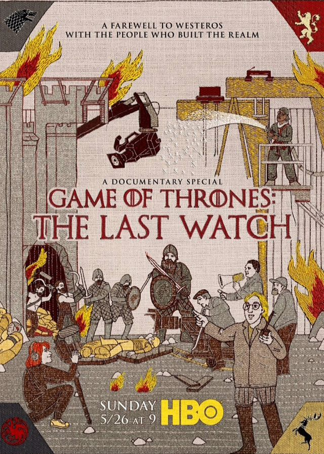 Game of Thrones: The Last Watch - Documentaire (2019)
