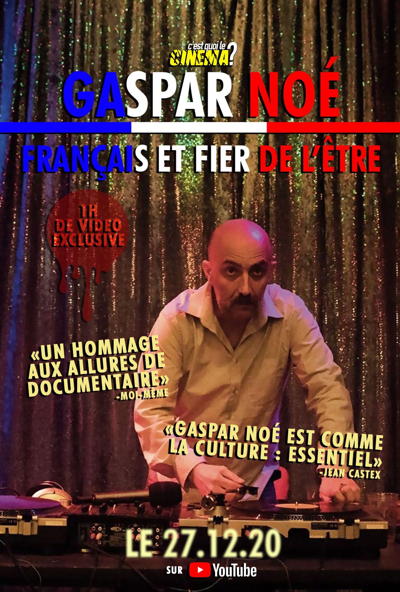 Gaspar Noé : français et fier de l'être - Documentaire (2020)