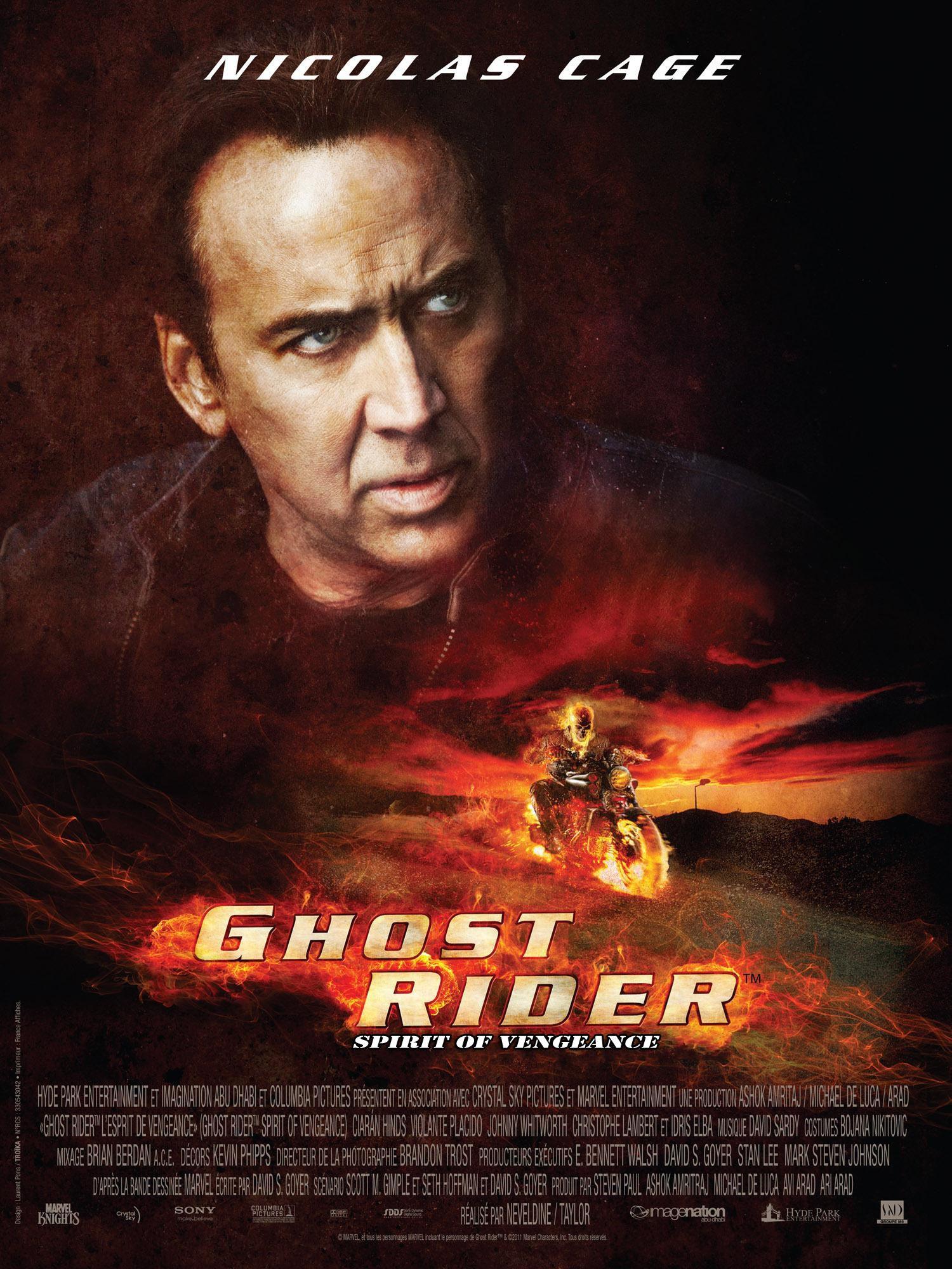 Ghost Rider : L'Esprit de vengeance - Film (2012)