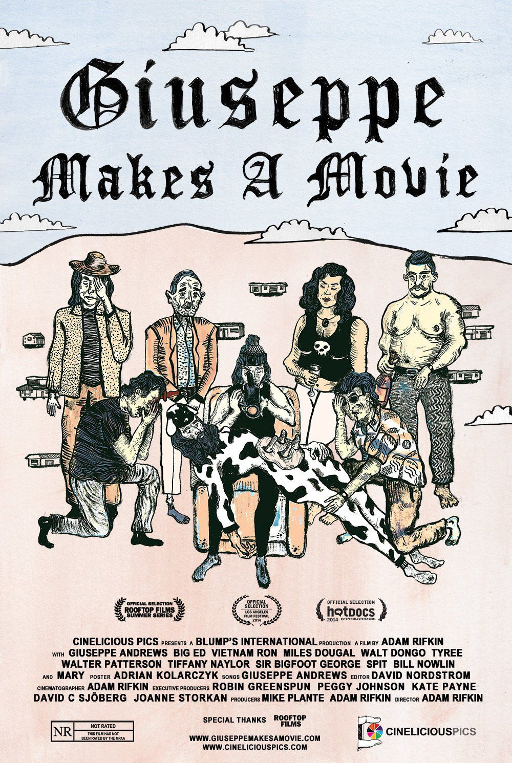 Giuseppe Makes a Movie - Documentaire (2015)