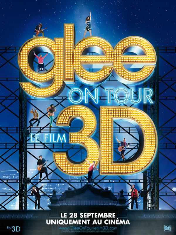 Glee on Tour : Le Film 3D - Documentaire (2011)