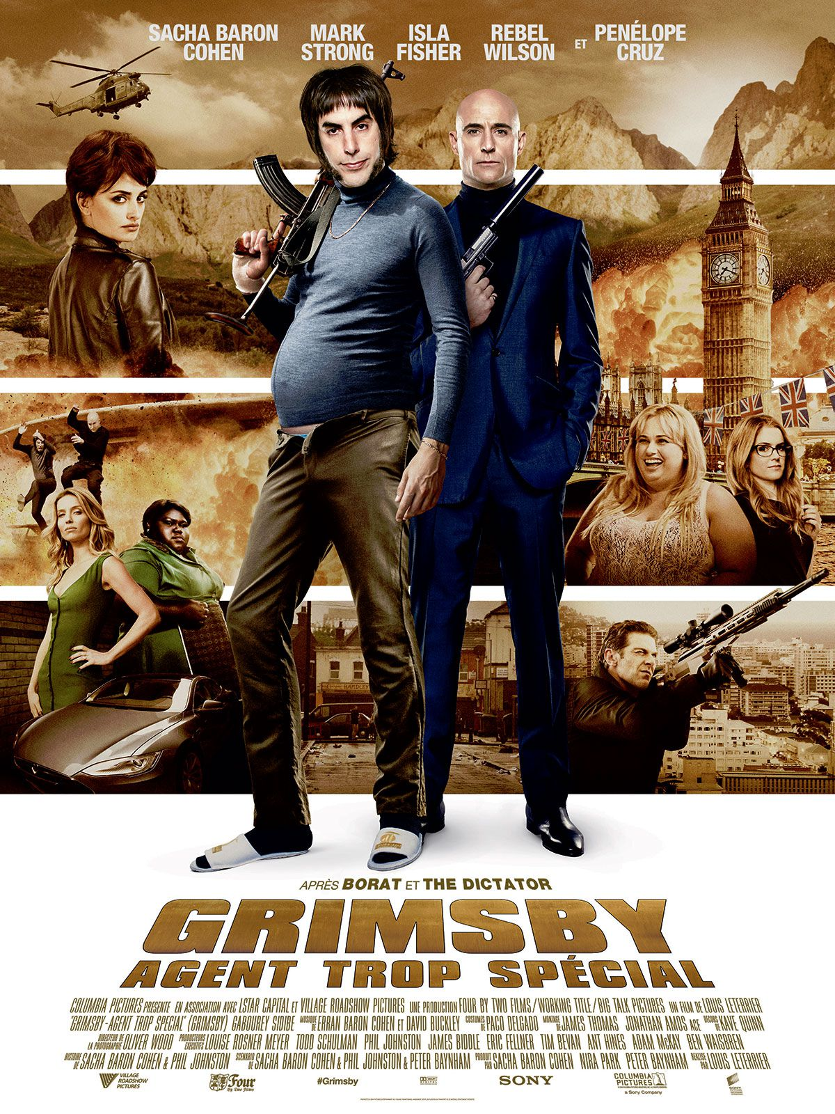 Grimsby : Agent trop spécial - Film (2016)