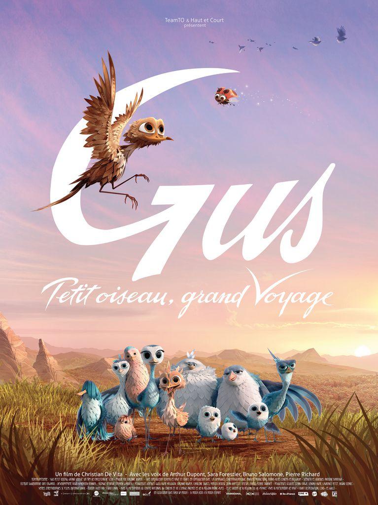 Gus, petit oiseau grand voyage - Long-métrage d'animation (2015)