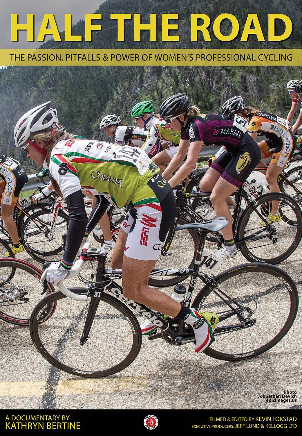 Half The Road: The Passion, Pitfalls & Power of Women's Professional Cycling - Documentaire (2014)