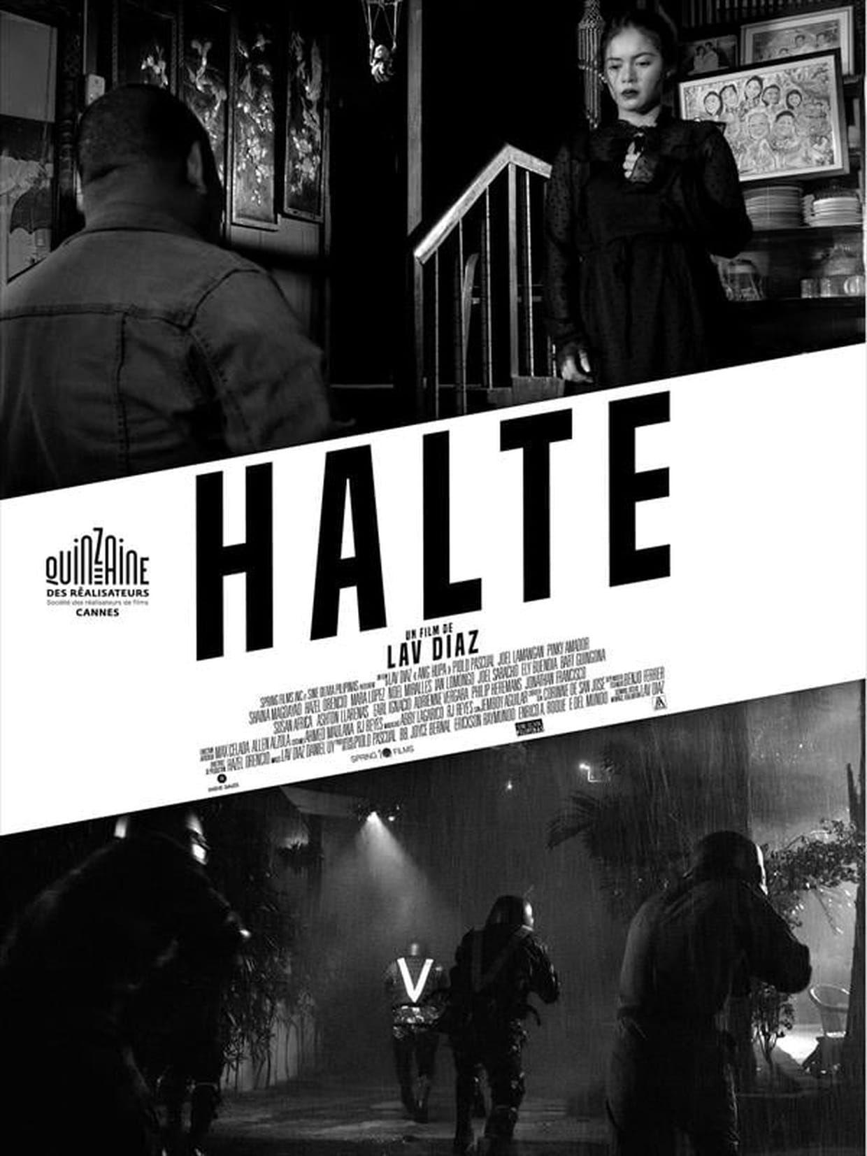 Halte - Film (2019)