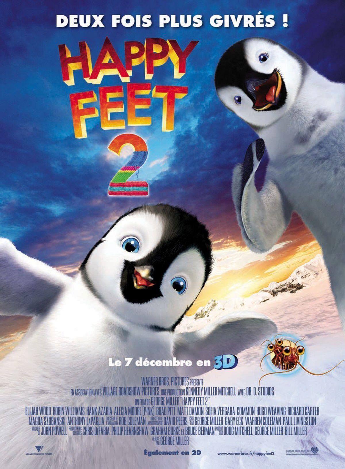Happy Feet 2 - Long-métrage d'animation (2011)