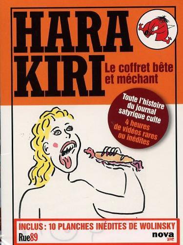 Hara Kiri, le coffret bête et méchant - Documentaire (2012)